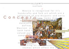 Concept Board (shalomsiqueira) Tags: conceptboard allsaints muralism art design fashion fashiondesign