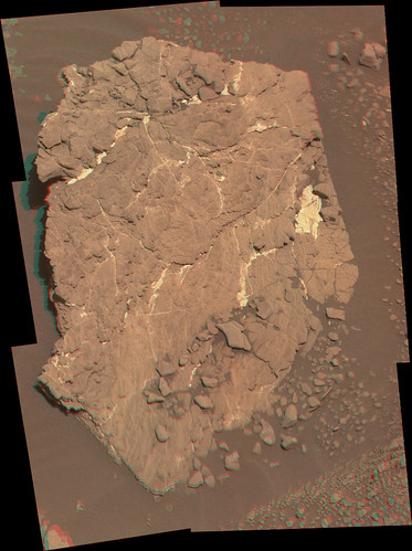 Curiosity sol 2434 mastcam R L _  anaglyph demosaicing
