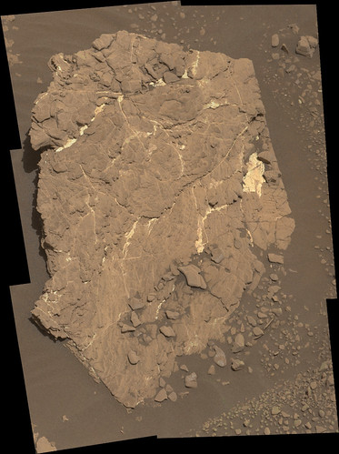 Curiosity sol 2434 mastcam R  _   demosaicing
