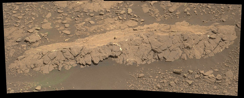 Curiosity sol 2434 mastcam R  demosaicing