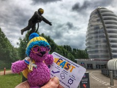 Great day out at #nationalspacecentre #leicester #space #science #knitted #littleted #stroke #strokeawareness #astronaut #nhs #proudofnhs (Andreadm66) Tags: nationalspacecentre leicester space science knitted littleted stroke strokeawareness astronaut