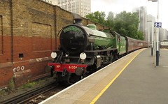 61306 Vauxhall (localet63) Tags: b1class lner 61306 mayflower vauxhall railtour westcoastrailways 1z82 royalwindsorsteamexpress