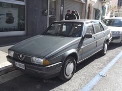 Alfa Romeo 75 (Norbert Bánhidi) Tags: italy monopoli car vehicle alfaromeo italien italia italie italië италия olaszország apulia apulien pulla pouilles puglia apúlia apulië апулия púgghie puie puje puia pùglia