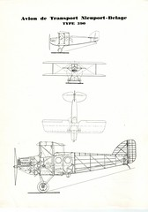 Nieuport-Delage Type 390, Outline, Face, Amenity, Cross-section, 1925/1930 (afvintage) Tags: nieuportdelage nd390 type390 freighter freightplane freightaircraft caf compagnieaériennefrançaise