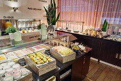 Breakfast Buffet @ Lindner WTC Hotel & City Lounge Antwerp (Lindner WTC Hotel & City Lounge Antwerp) Tags: breakfast restaurant lindnerwtchotelcityloungeantwerp