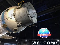 Great day out at #nationalspacecentre #leicester #space #science (Andreadm66) Tags: nationalspacecentre leicester space science knitted littleted stroke strokeawareness astronaut