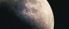 Mood Moon (Derek Mindler) Tags: moon astrophotography close up blackmagic ursa mini pro craters space spacex flight telephoto dark night sun sunlight