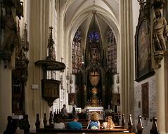 Maria am Gestade (Innenraum) (Wolfgang Bazer) Tags: maria am gestade gothic church gotische kirche römischkatholische gotik gotisch kircheninnenraum interior wien vienna österreich austria