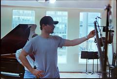 Adam Engel on Kodak (Derek Mindler) Tags: film 35mm developed c41 canon rebel g adam engel tangolight films productions filmmaking filmmaker director set movie kodak nyc piano studio windows jib music video feature mouse