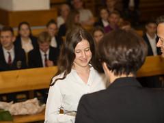 Wręczenie świadectw ósmoklasistom