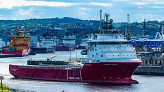 Standard Viking Departing Aberdeen Harbour 18/06/2019.
