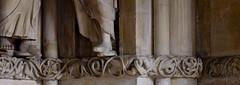 Münster, Westfalen, Paulusdom, Paradies, fries, detail (groenling) Tags: münster westfalen dom paulusdom nordrhein nrw cathedral germany de deutschland paradies entry eingang fries friese stone carving stonecarving stein foot fus face gesicht vine weinreb hand
