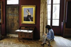 Musée Bourdelle (erichudson78) Tags: france iledefrance paris15ème muséebourdelle scèneintérieure canoneos6d smartphone cellphone musée museum tableau peinture paint