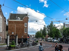 I Amsterdam Sunday Afternoon  I (CloudBuster) Tags: amsterdam i city capital the netherlands history buildings public transport gvb tourism sightseeing clouds sunshine beauty visit tram zondagmiddag stad bezienswaardigheid man men women woman tramrails wolken lucht sky air zon iamsterdam spui street party straatfeest 16 juni 2019 feestje
