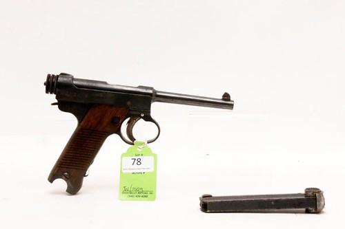 14th year Type Nambu Semi Automatic Pistol ($504.00)