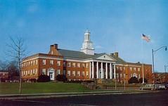 Irvington Town Hall (NJ) postcard (Ken Ronkowitz) Tags: irvington nj newjersey urban