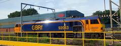 _0013997-001 (onewayticket) Tags: electric railway trains transport locomotive loco gbrf gbrailfreight