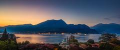 Monte di Tremezzo (olemoberg) Tags: monteditremezzo loppia bellagio comolake lagodicomo lombardia lombardy lake mountain sunset