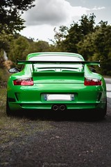 The Green Hell (Lbrx_photography) Tags: canon7d france automotivephotographer photographer automotive auvergne cars 997gt3 997 911 porsche