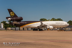 N278UP UPS | McDonnell Douglas MD-11F | Memphis International Airport (M.J. Scanlon) Tags: 20d absolutelypositivelyovernight air aircraft aircraftspotter aircraftspotting airliner airplane airport aviation canon capture cargo digital eos flight fly flying freight freighter haul image impression ja8586 jal japanairlines jet jetliner logistics md11f mem mcdonnelldouglas mcdonnelldouglasmd11 memphisinternationalairport mojo n278up packages perspective photo photograph photographer photography picture plane planespotter planespotting scanlon spotter spotting super ups unitedparcelservice ©mjscanlon ©mjscanlonphotography