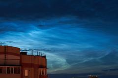 Silver clouds over Kazan (dbl_foto) Tags: russia tatarstan kazan silver clouds atmosphere night city sony nex6 nikkor nikkorais50f14