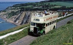 CDL899 Southern Vectis SVOC 502 'The Old Girl' (theroumynante) Tags: cdl899 southern vectis svoc 502 bristol k5g eastern coachworks ecw alum bay needles battery national trust bus buses opentop halfcab openback road transport doubledeck isleofwight 42