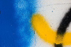 Blue, Yellow, Black (Chad Dolby) Tags: abandoned letchworth textures detail