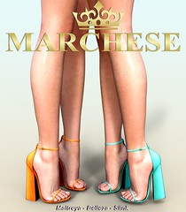 Marchese X Tres Chic (~MARCHESE~) Tags: maitreya marchese mesh secondlife heels belleza treschic shoes slink