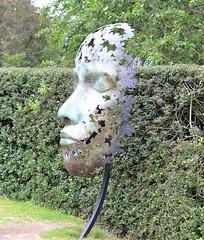 leaf spirit (conall..) Tags: simon gudgeons sculpture leaf spirit simongudgeon leafspirit nikon afs nikkor f18g lens 50mm prime primelens nikonafsnikkorf18g kew gardens kewgardens botanicgarden southwest london richmond