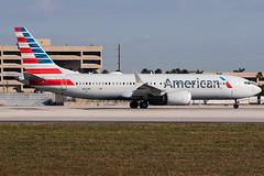 N321RL / American Airlines / Boeing 737-8 MAX (Charles Cunliffe) Tags: canon7dmkii aviation miamiinternationalairport kmia mia americanairlines aal aa boeing737 7378max n321rl