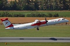 """Villach"" Austrian Airlines OE-LGM De Havilland Canada DHC-8-402Q Dash 8 cn/4319 @ LOWW / VIE 21-06-2018 (Nabil Molinari Photography) Tags: villach austrian airlines oelgm de havilland canada dhc8402q dash 8 cn4319 loww vie 21062018"