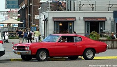 Chevrolet Chevelle 1970 (XBXG) Tags: dz0612 chevrolet chevelle 1970 chevroletchevelle v8 coupé coupe gm general motors generalmotors red rood rouge msvanriemsdijkweg vanriemsdijkweg amsterdamnoord amsterdam noord nederland holland netherlands paysbas vintage old classic american car auto automobile voiture ancienne américaine us usa vehicle outdoor