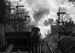 Good Morning (Treflyn) Tags: ivatt 4mt 260 43106 flyingpig bewdley south signal box svr severn valley railway engineers train matt fielding photo charters charter event