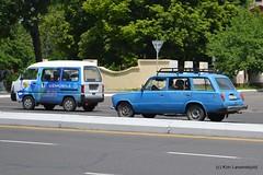 Chevrolet Damas & Lada VAZ 2102 (Kim-B10M) Tags: cars uzbekistan lada damas 2102