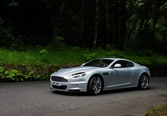 The sublime Aston Martin DBS (orangecalipers1) Tags: country sky silver supercar car 007 jamesbond dbs astonmartindbs astonmartin martin aston