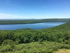 159/365: Blue and Green Horizon (jchants) Tags: 365the2019edition 3652019 day159365 08jun19 sky water trees green blue quabbinreservoir belchertownma
