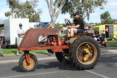 Newman (Runabout63) Tags: newman tractor murraybridge