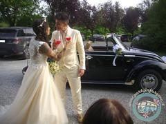 Brindisi... (partyinfurgone) Tags: wedding vw vintage volkswagen milano beetle maggiolone matrimonio limousine nozze epoca affitto maggiolino noleggio addiocelibato addionubilato cabriohippie sposw atorico