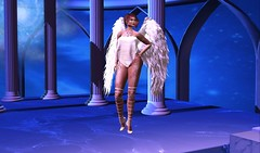 to capture an Angel (Mel (sl - gaealicious resident)) Tags: vista tableauvivant purepoison blueberry mooh
