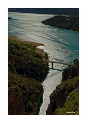 Verdon + Lac de Sainte Croix (Babaou) Tags: frankreich france provencealpescôtedazur provence verdon gorgesduverdon lacdesaintecroix pontdegaletas d952 südfrankreich alpesdehauteprovence paca moustiers dxopl régusse2019 gegenlicht var