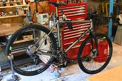 Chris's Huntsman Ti (44 Bikes) Tags: 44bikes custombicycle huntsman framebuilding titanium