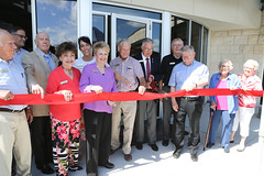 Bob & Wanda Meyer Senior & Community Center Grand Opening Ceremony (City of College Station) Tags: parksrecdepartment parksrecreation parksrec seniorprograms seniors community cityofcollegestation collegestation meyerseniorcommunitycenter meyercenter cstx city council senior advisory committee