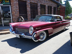 1958 Lincoln Continental lll convertible (D70) Tags: 1958 lincoln continental lll convertible 33000miles wasneythefordwrecker burnaby britishcolumbia canada