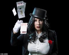 She Deals A Strong Hand... (Ring of Fire Hot Sauce 1) Tags: cosplay zatanna fatalsiren wondercon