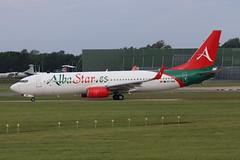 Alba Star Boeing 737-81Qw EC-NAB (Retro Jets) Tags: albastar b738 man