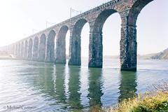 Royal Border Bridge (Michael Guttman) Tags: uk bridge river masonry arches viaduct berwickupontweed rivertweed railwayviaduct royalborderbridge stoneclad rivercrossing highkey
