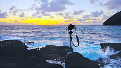Hawaii Sunrise Set-up - Makapu'u Beach & Tide Pools - Oahu, Hawaii (J.L. Ramsaur Photography) Tags: jlrphotography nikond7200 nikon d7200 photography photo oahuhi 25thanniversary honolulucounty hawaii 2019 engineerswithcameras islandsofhawaii photographyforgod hawaiianislands islandphotography screamofthephotographer ibeauty jlramsaurphotography photograph pic oahu tennesseephotographer oahuhawaii 25years anniversarytrip bucketlisttrip thegatheringplace 3rdlargesthawaiianisland 20thlargestislandintheunitedstates therainbowstate nikonmcdc2remote tripod nikkor1020mmlens sunrisecamerasetup camerasetup hawaiisunrisesetup makapuubeachtidepools makapuubeach makapuutidepools makapuulighthouse sunrise sun sunrays sunlight sunglow orange yellow blue bluesky deepbluesky beautifulsky whiteclouds clouds sky skyabove allskyandclouds wherethemapturnsblue ocean bluewater blueoceanwater sea waves pacificocean