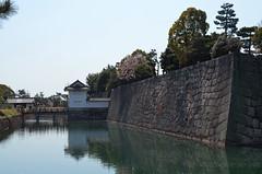 KYO_Nijo_Castle_19 (chiang_benjamin) Tags: kyoto japan nijocastle spring moat