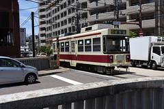 xxx 15 Nagasaki Electric Tramway 1201 (Howard_Pulling) Tags: nagasaki tram rams trams strassenbhan strassenbahn kyushu japan japanese