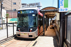 xxx 17 Nagasaki Electric Tramway 3003 (Howard_Pulling) Tags: nagasaki tram rams trams strassenbhan strassenbahn kyushu japan japanese
